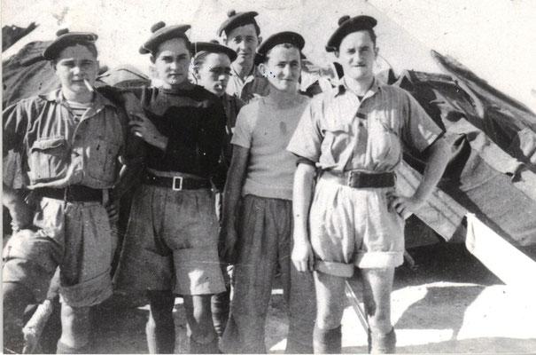 1941 - Suez - 1er G-1ere sion- 2e Bon- Fercocq et Pajeau -Fonds H Fercocq