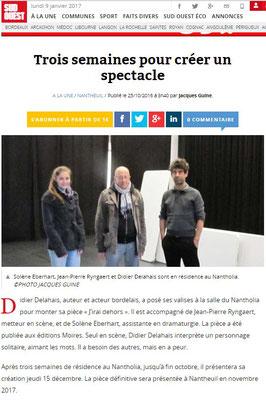 http://www.sudouest.fr/2016/10/25/trois-semaines-pour-creer-un-spectacle-2545879-1964.php
