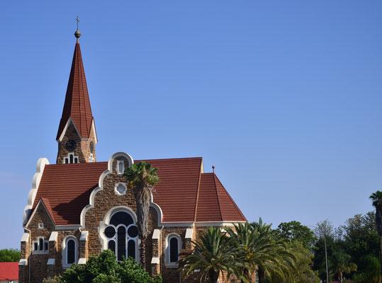 Eglise luthérienne allemande de Windhoek (Namibie)
