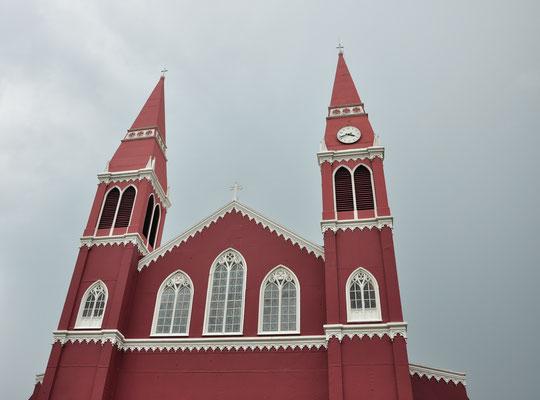 Eglise en métal de Grecia (Costa Rica)