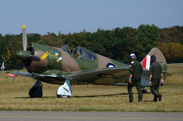 "Avion australien ""Commonwealth CA-13 Boomerang"" (Meeting Air Show à Habsheim)"
