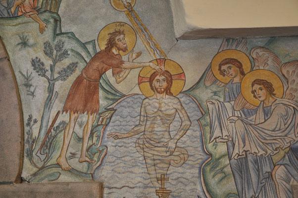 Baptême de Jésus (Abbaye du Mont Sainte-Odile, Bas-Rhin)
