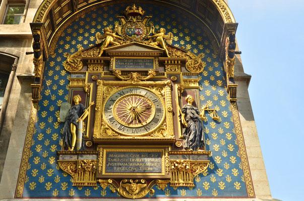 Horloge du Palais de Justice de Paris