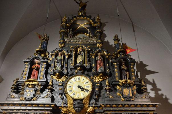 Horloge astronomique de la cathédrale de Besançon