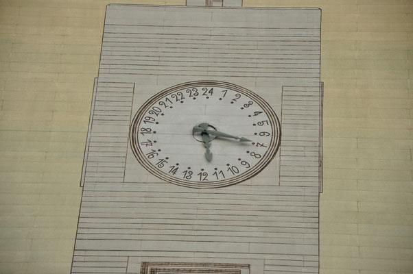 Tour horloge de la Cité idéale de Tony Garnier (Lyon)