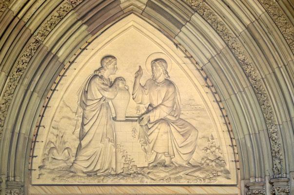 Rencontre de Jésus et de la Samaritaine (Elisabethenkirche, Bâle)