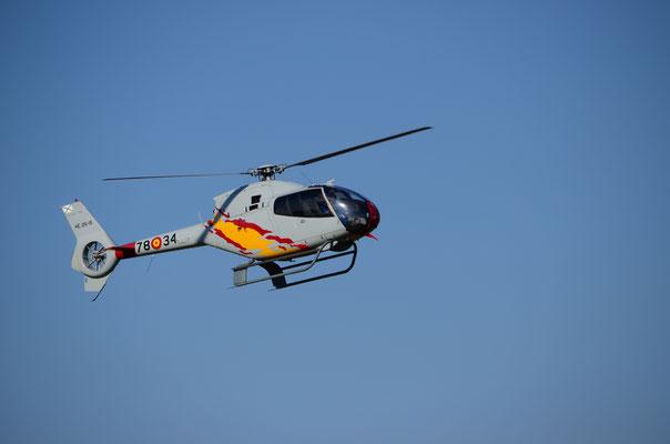 Hélicoptère de la patrouille espagnole ASPA  (Meeting Air Show à Habsheim)