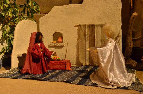 Annonce de la naissance de Jésus (exposition à la collégiale St-Martin à Colmar, décembre 2017)