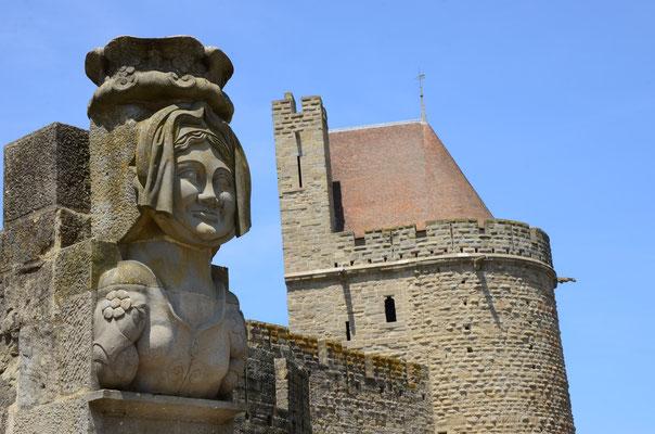 Dame Carcas, qui donna son nom à la ville de Carcassonne