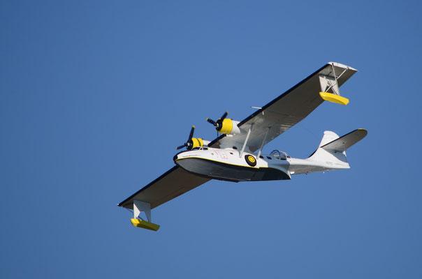 """Hydravion militaire américain """"Catalina""""  (Meeting Air Show à Habsheim)"""