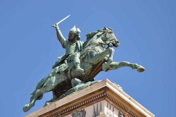 Vercingétorix, chef gaulois, héros de la Guerre des Gaules (82 av.J.C. - 46 av. J.C.)