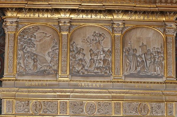 Evocation de l'histoire de Jeanne d'Arc (Hôtel de Ville d'Orléans)