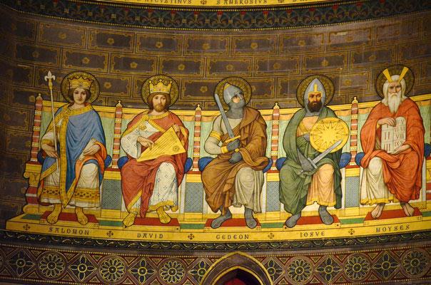 Personnages de l'Ancien Testament (Cathédrale de Strasbourg)