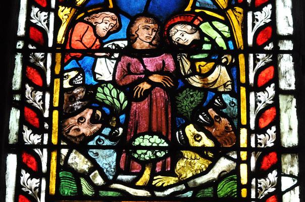 Daniel dans la fosse aux lions (Temple Saint-Etienne, Mulhouse)