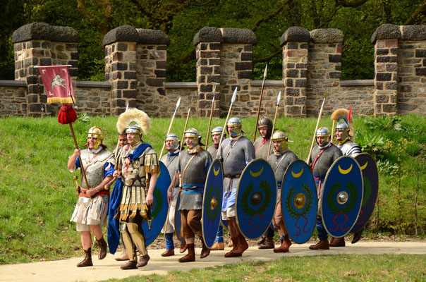 Camp romain de la Saalburg (Allemagne)