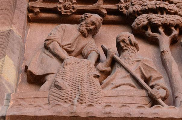 Pêche miraculeuse (église St-Pierre-le-Vieux, Strasbourg)