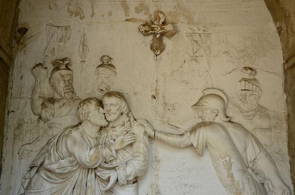 Baiser de Judas (jardin du Calvaire, Carcassonne)