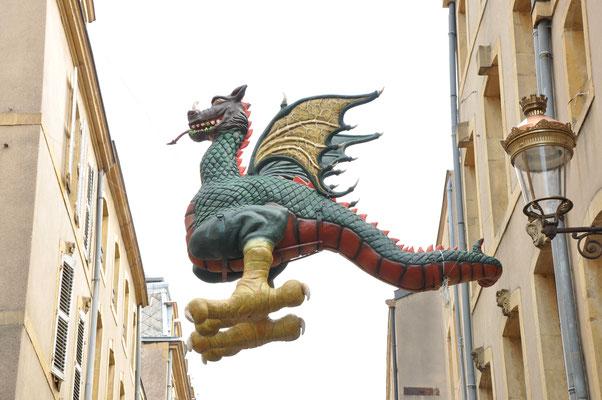 Le Graoully, monstre légendaire qui terrorisait la ville de Metz