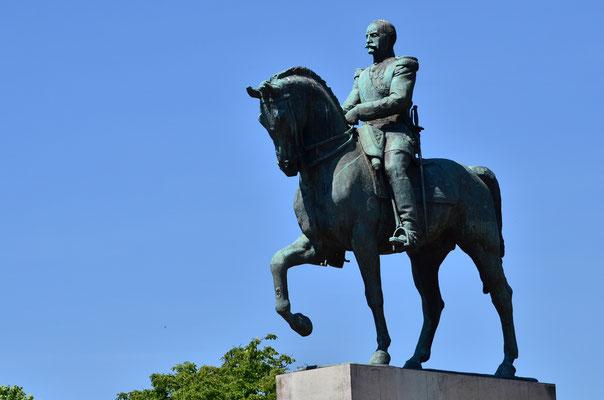 Ferdinand Foch, maréchal de France, commandant en chef des forces alliées en 1918 (1851-1929)