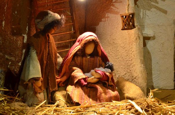 Naissance de Jésus  (exposition à la collégiale St-Martin à Colmar, décembre 2017)