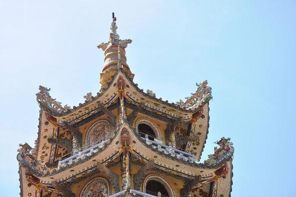Pagode Chua Linh Phuoc, Vietnam