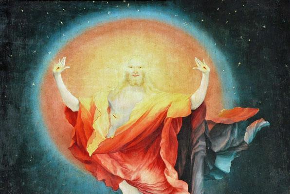 Résurrection de Jésus-Christ (retable de Mathias Grunewald, musée d'Unterlinden, Colmar)
