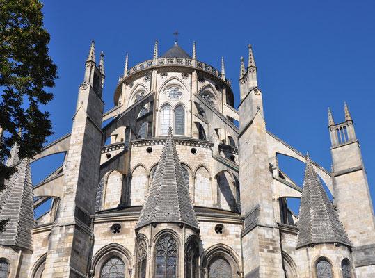 Chevet de la Cathédrale de Bourges