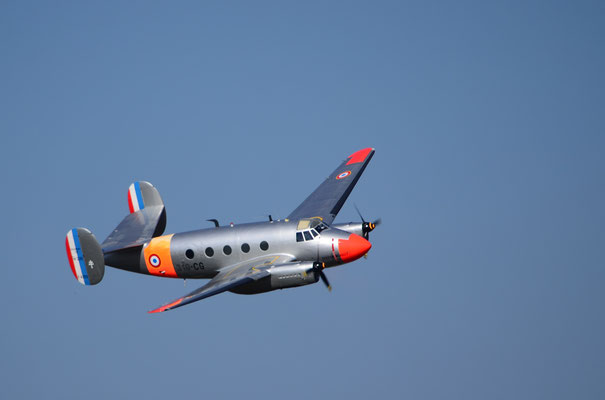 """Avion militaire français """"Flamant"""" (Meeting Air Show à Habsheim)"""