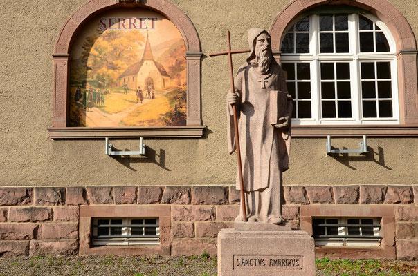 Saint Amarin, évangélisateur, moine et martyr (mort en 676)