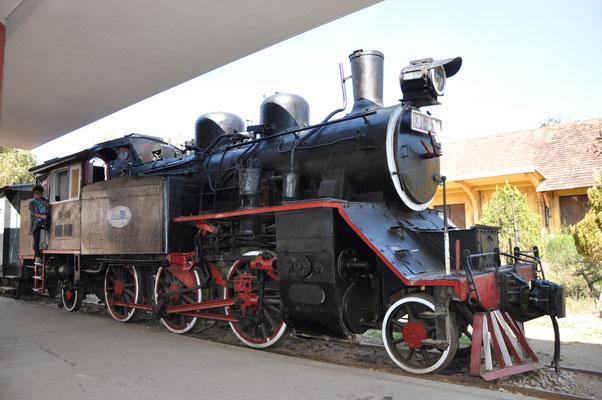 Monter dans une locomotive