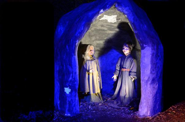 Les Nains de la Gorge aux Loups, légende alsacienne