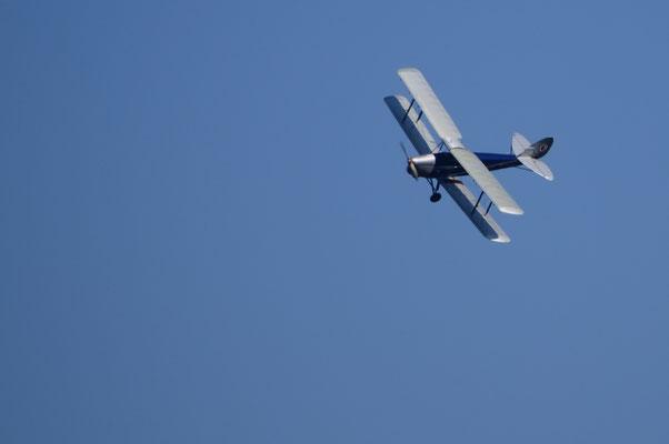 "Avion britannique ""De Havilland Moth Major""  (Meeting Air Show à Habsheim)"
