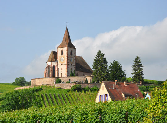 Eglise fortifiée de Hunawihr (Haut-Rhin)
