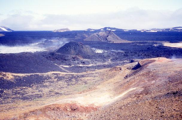 Terres volcaniques de Leirhnjukur, Islande