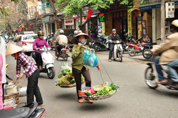 Scène de vie à Hanoï