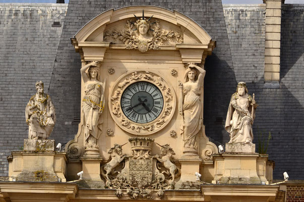 Horloge de l'Hôtel de Ville d'Amiens