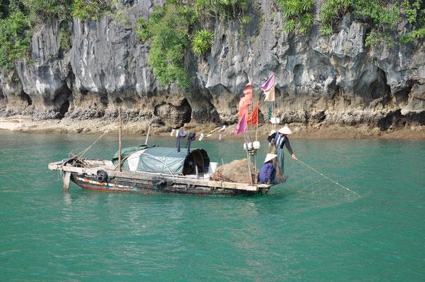 Embarquer sur un bateau de pêche