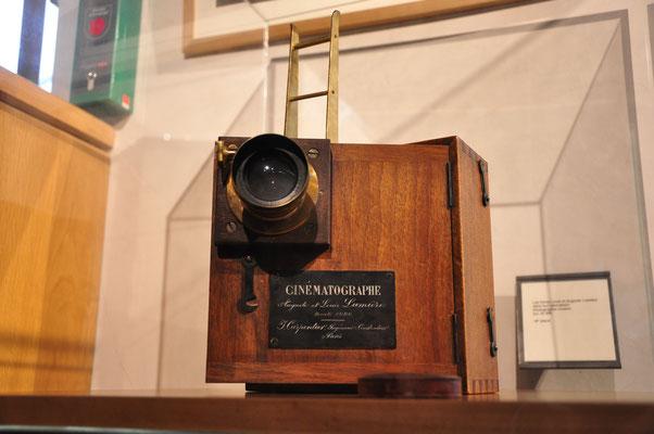 Cinématographe des frères Lumière (musée Gadagne, Lyon)