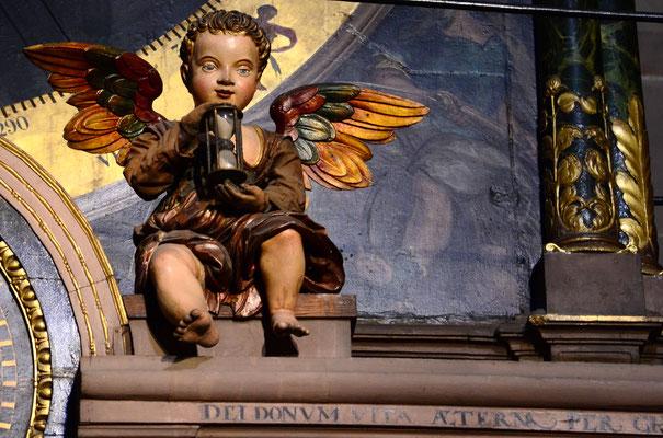 Ange au sablier (Horloge astronomique de la cathédrale de Strasbourg)