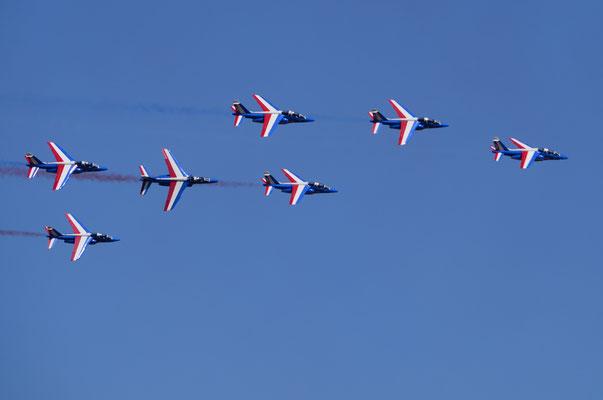 Alphajets de la Patrouille de France  (Meeting Air Show à Habsheim)