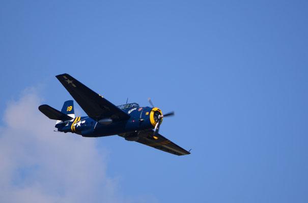 "Avion militaire américain ""Avenger"" (Meeting Air Show à Habsheim)"
