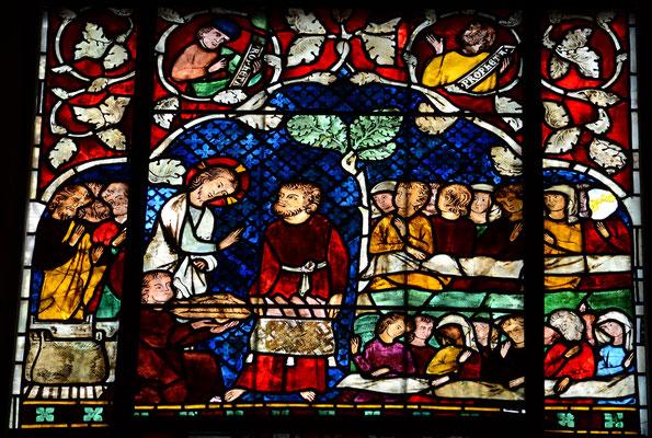 Multiplications des pains (cathédrale de Strasbourg)
