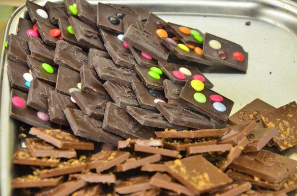 Odeur et goût du chocolat