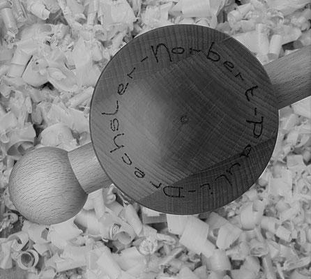 Logo Drechsler-Norbert-Pauli, vis de vice en bois