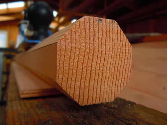 Mast Gaffel Baum - planing the spars