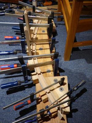 steamed rocker, gedämpftes Holz, Holz biegen
