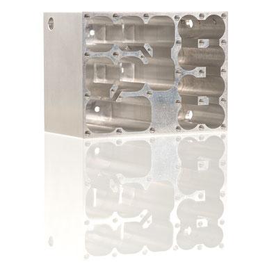 Aluminium; ca. 100x60x40mm