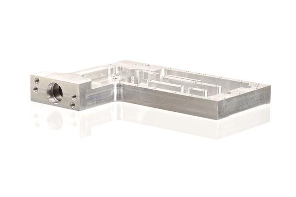 Aluminium; ca. 160x100x15mm