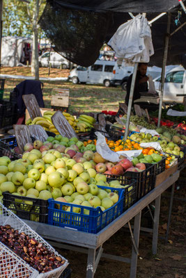 Fruits farmers market Girona
