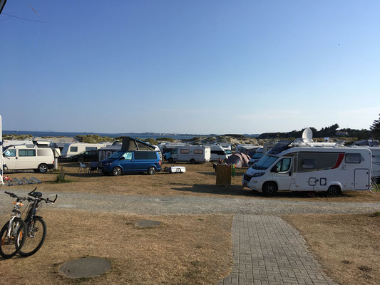 Camping Olberg at the beach